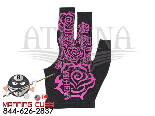 Athena Tribal Rose Billiard Glove
