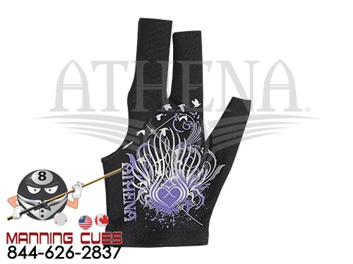 Athena White Dove Billiard Glove