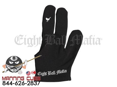 Eight Ball Mafia Billiard Glove - Little Birdie Flip Finger