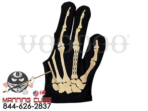 Voodoo Skeleton Billiard Gloves