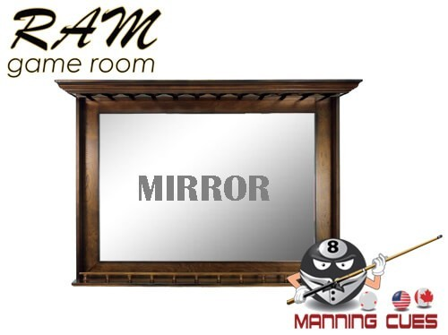 Bar Mirror Solid Wood - Chestnut