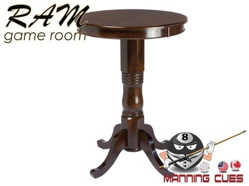 Round Pub Table - Cappuccino