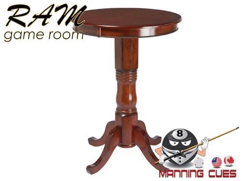 Round Pub Table - Chestnut