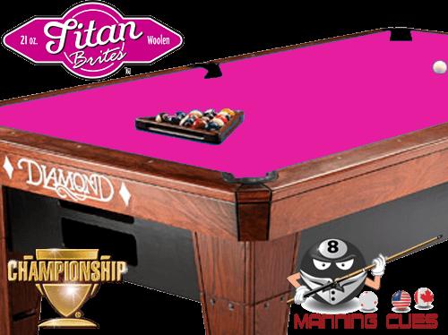 Championship Titan Brite Cloth - Brite Pink