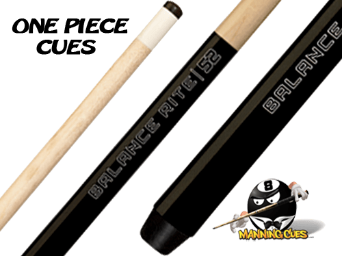 "Balance Rite 52""One-Piece Shorty Cue"