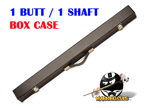 Pro Series 1 butt/1 shaft Black Box case