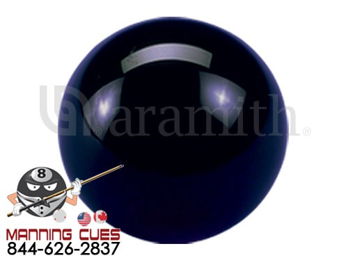 Aramith Solid Black Cue ball