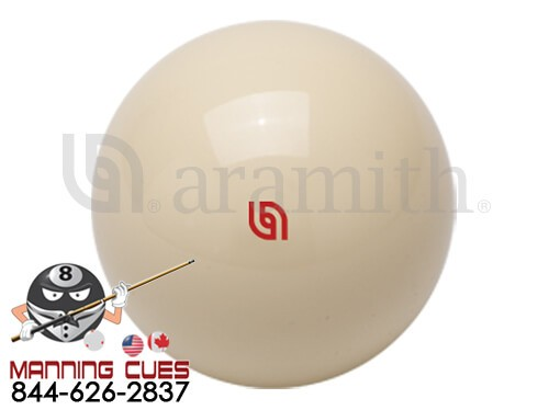 Super Pro Aramith Cue Ball - Red Logo