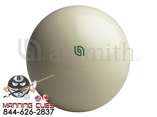 Aramith Tournament Magnetic Cue Ball with Green Logo