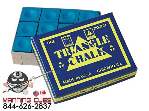 Triangle Billiard Chalk - Dozen