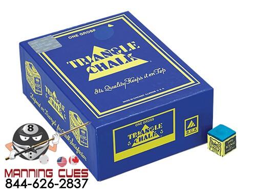 Triangle Billiard Chalk - Bulk 144-pieces