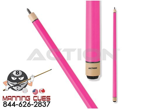 Action COL06 Pink Pool Cue