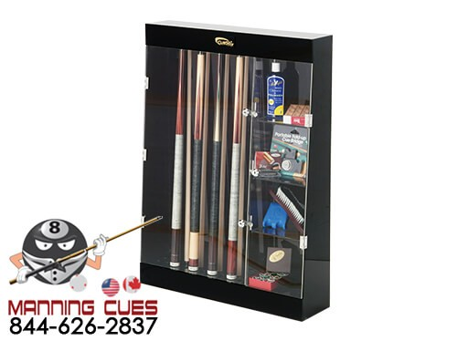 10 Cue Display Case with 4 Shelves