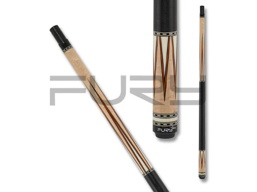 Fury FUCJX01 Curly Maple Pool Cue
