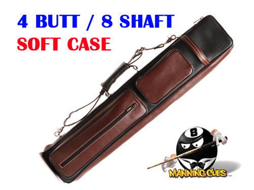 Instroke Soft Sided 4x8 Leather Cowboy Soft Case