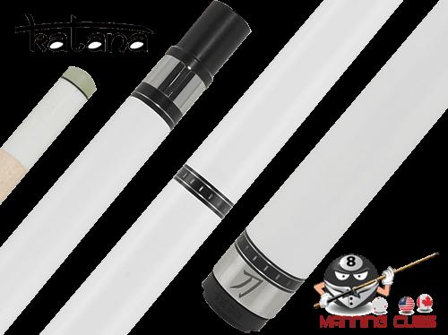 Katana Break Cue with White Ferrule G10 Tip - KATBK03