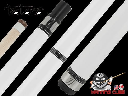 Katana Break Cue with White Ferrule G2 Hard Tip - KATBK04