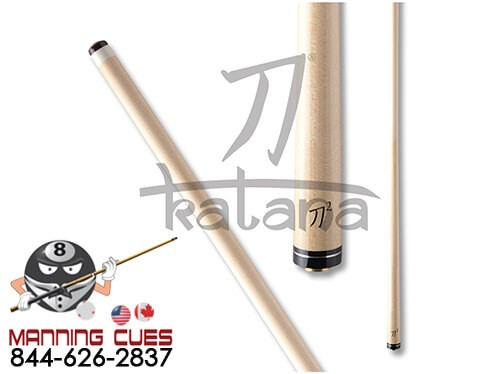 Katana KATSX2 Performance Shaft with Uni-Loc Joint and Silver Ring Collar