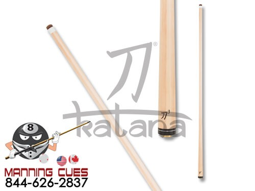 "Katana KATXS3 Performance 30"" Shaft with Uni-Loc Joint and Silver Ring Collar"