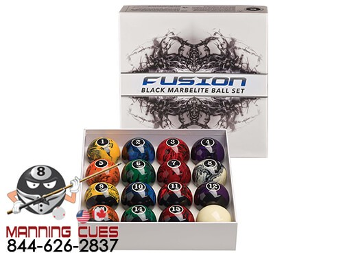 Fusion Black Marbelite Ball Set