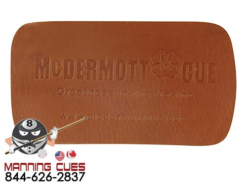 McDermott Brown Leather Burnishing Pad