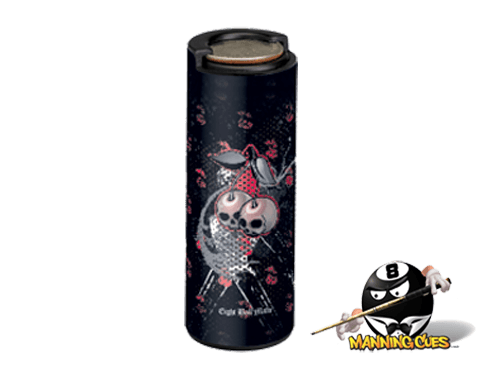 Eight Ball Mafia Coin Holder - Cherry Skulls