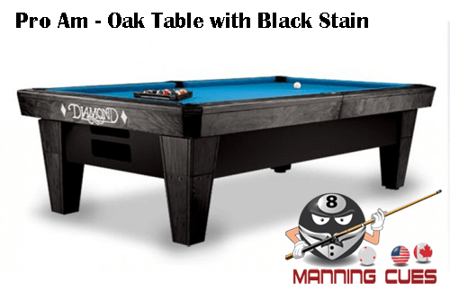 diamond bales bobs pool paragon rosewood maple bob table