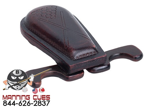Leather 2 Cue holder