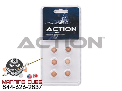 Action Generic Tips - Pack of 6
