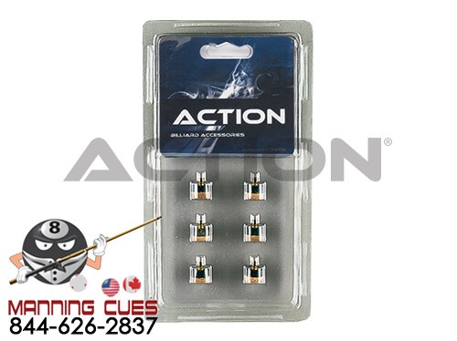 Action Screw-On Tips - Pack of 6