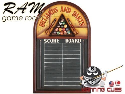Billiards and Darts Chalk Board