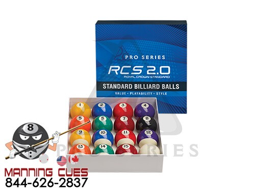 Pro Series RCS 2.0 Standard Pool Ball Set