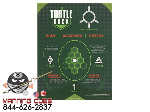 Original Turtle Rack for 9 or 10 Ball