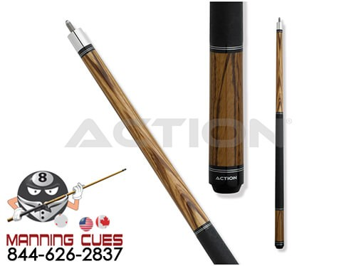 Action RNG07 Zebrawood Pool Cue