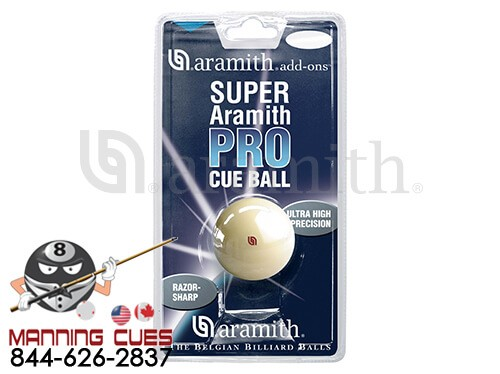 Super Pro Aramith Cue Ball in Blister Pack