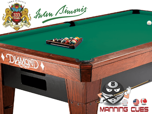 Simonis 300 Carom - Tournament Green