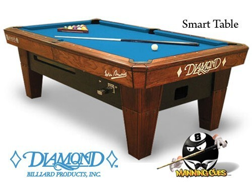 Diamond Smart Table - Cue master pool table