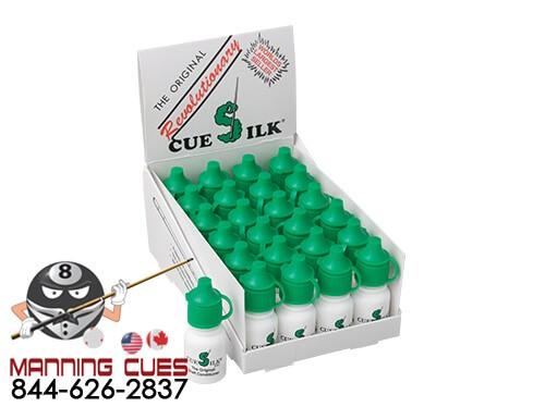 Cue Silk Shaft Sealer & Conditioner 0.25oz-Box of 24