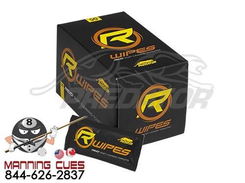 Predator REVO Shaft Wipes - Box of 50