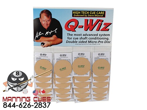 Q-WIZ Conditioning Pad - Card of 24