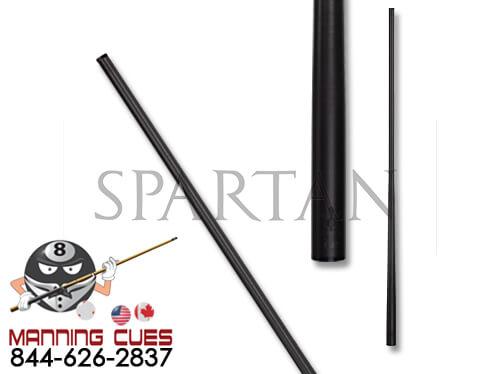 Spartan Carbon Fiber 12.25 mm Black Ferrule Shaft