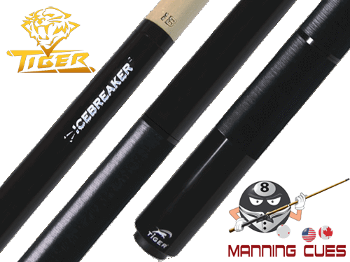 Tiger Icebreaker 2 Jump Break Cue With Wrap