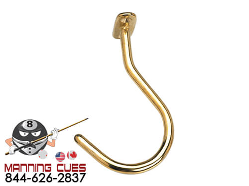 Large Brass Facemount Hook