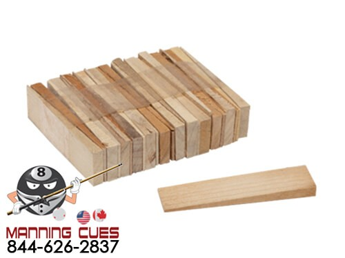 Hardwood Table Shims - Set of 25