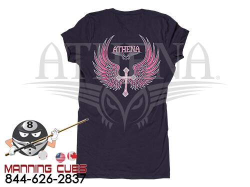 Athena Black T-Shirt