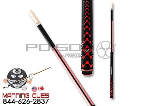 Poison VX5 Pink Break Jump Cue