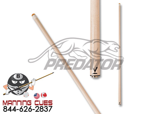Predator Vantage Shaft-Uni-Loc Joint-Thin Black Collar