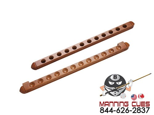 12 Cue 2 Piece Wall Rack with Holes