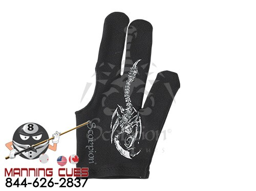 Scorpion Finger Stinger Billiard Glove