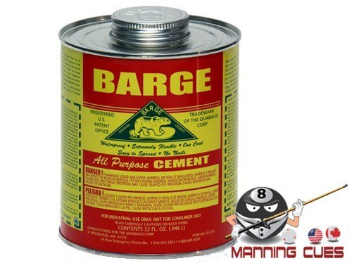 Barge Rail Rubber Contact Cement Quart
